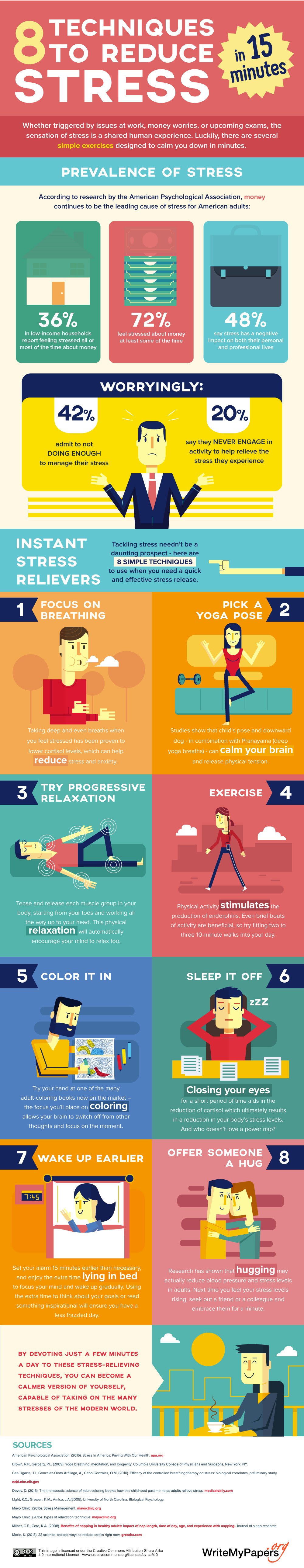 8 Techniques to Reduce Stress in 15 Minutes