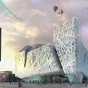 Expo de Milán 2015: Nemesi & Partners Reveal Smog-Eating Pabellón de Italia de entrada principal.  Imagen © Nemesi & Partners