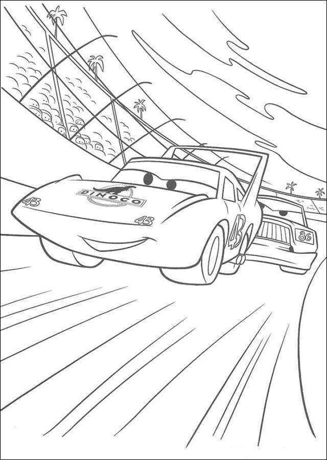 Dibujos De Cars Dibujos Para Colorear