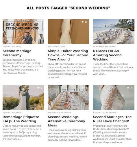 Second Marriage Ceremony