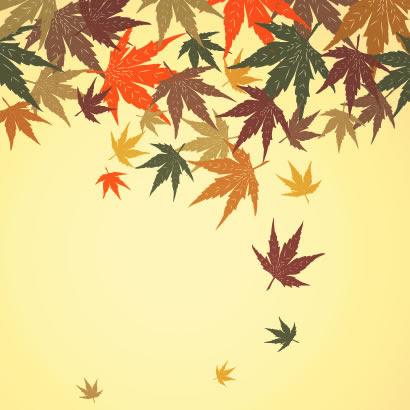 紅葉もみじ秋の和モダン背景のイラストaieps ベクタークラブ