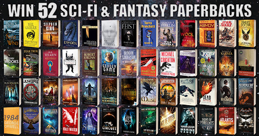 Ultimate Paperback Giveaway - SFF Book Bonanza - Discover Science Fiction and Fantasy Books