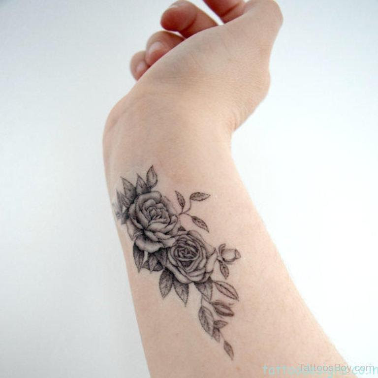 Flower Tattoos On Wrist Designs Flowers Healthy