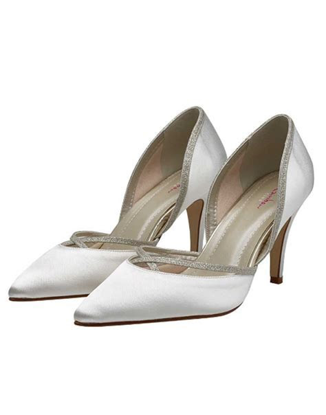 Georgia Wedding Shoe   Dyeable Bridal Shoes   Wedding Nites