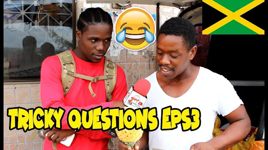 Trick Questions In Jamaica Episode 3 - Portmore - Jamaican Videos