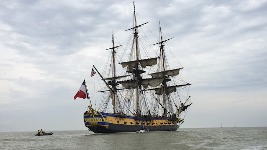 Replica Of Lafayette's Ship Re-Creates Historic Voyage To America