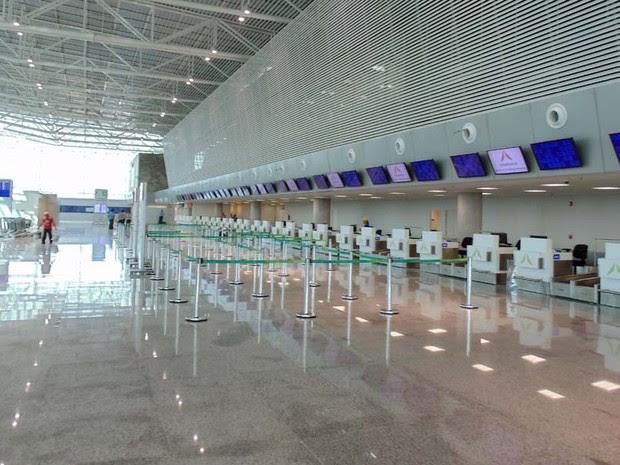 Novo terminal tem capacidade para atender 6,2 milhões de passageiros por ano (Foto: Fernanda Zauli/G1)