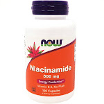 Niacinamide 500mg By Now Foods - 100 Capsules