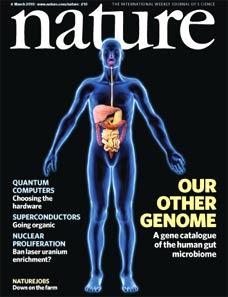 Naturecover zur Darmbakterien-Genomsequenzierung