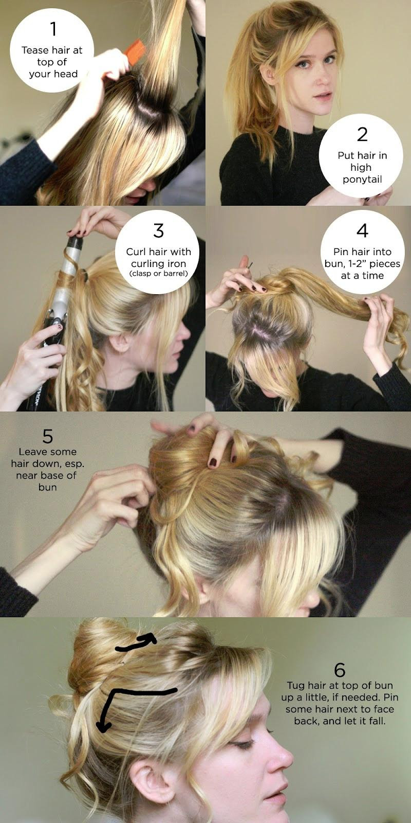 How to style a Messy bun tutorial | Hairstyles How To