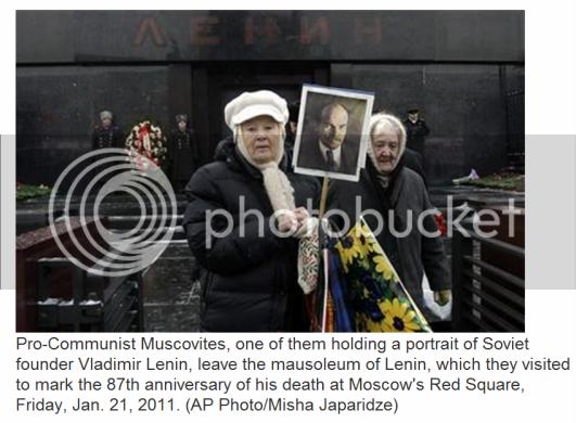 Pro-Communist Muscovites