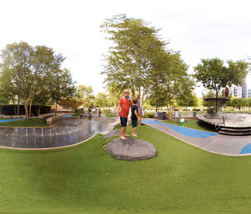 ASLA Unveils New Virtual Reality Video of Park in Dallas - Masonry Design Magazine
