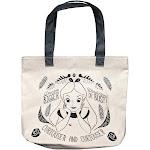 Loungefly Disney Alice in Wonderland Canvas Bookbag Tote Purse - Large