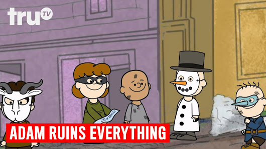 Adam Ruins Everything - The Drunken, Pagan History of Christmas - YouTube
