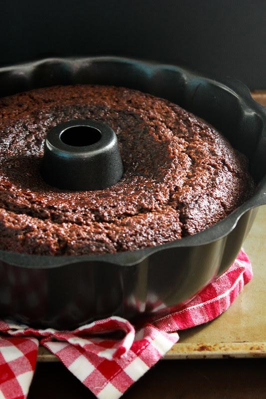 SPICED FRESH GINGER CAKE