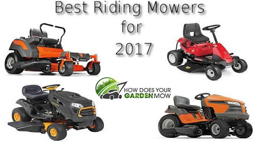 Find the Best Riding Lawn Mower for You. Our Top 2017 Picks