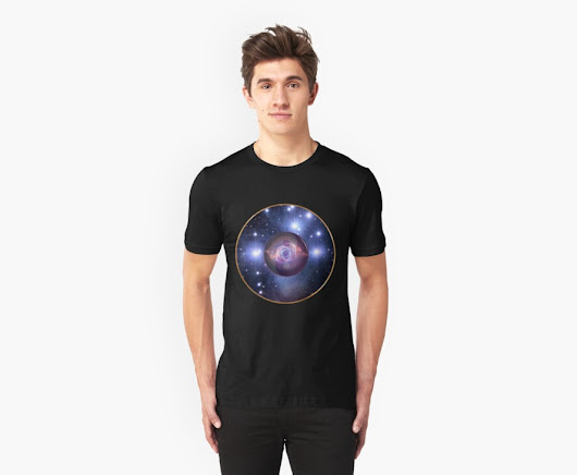 'Outer Inner Space' T-Shirt by Hugh Fathers