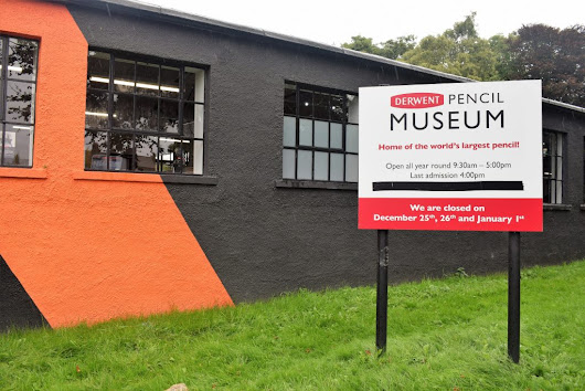 Days Out: The Derwent Pencil Museum, Keswick - HodgePodgeDays