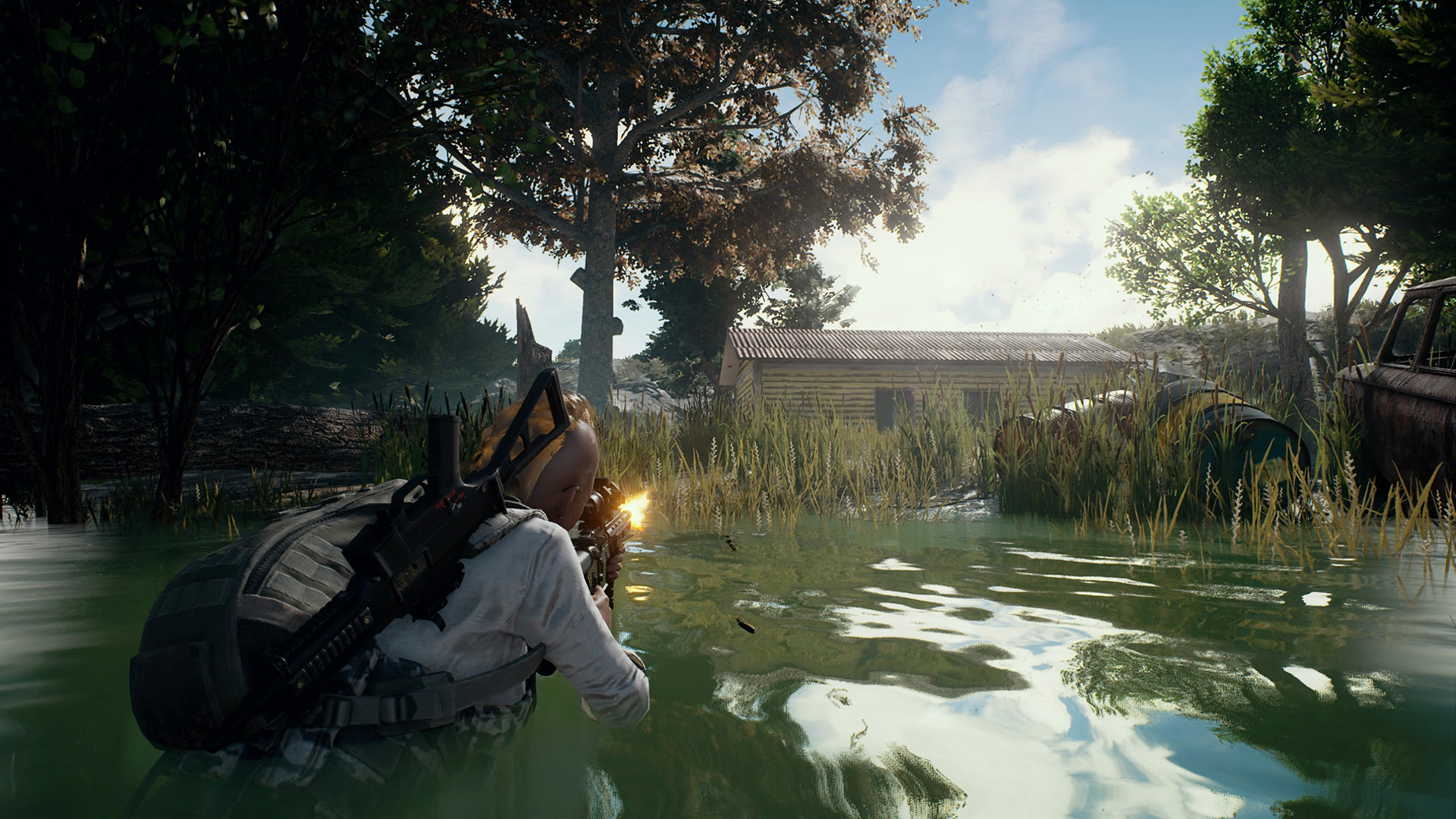 PlayerUnknown plans on adding campaign and replays to Battlegrounds screenshot