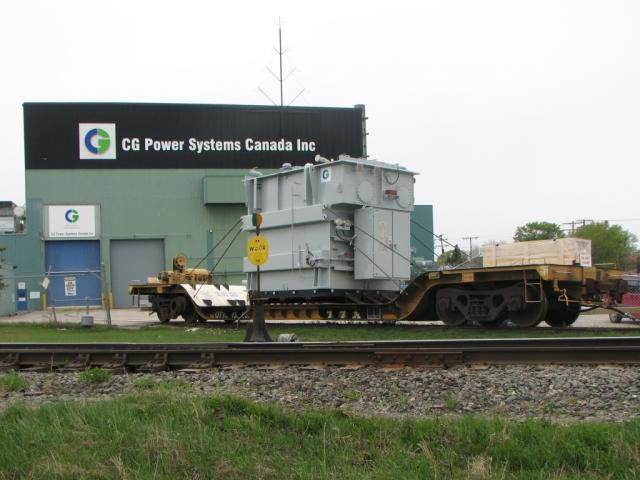 QTTX 130532 in Winnipeg at CG Power Systems