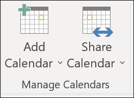 Microsoft Office Tutorials: Share an Outlook calendar with