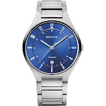 BERING Titanium Slim Watch With Scratch Resistant Sapphire Crystal 11739-707. Designed In Denmark - 11739-707
