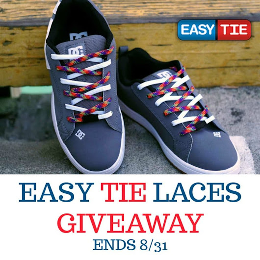 Easy Tie Laces Giveaway | Heartbeats~ Soul Stains