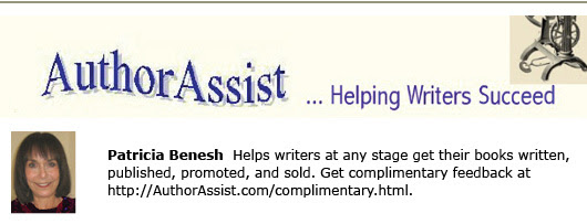 Author Assist self publishing blogs