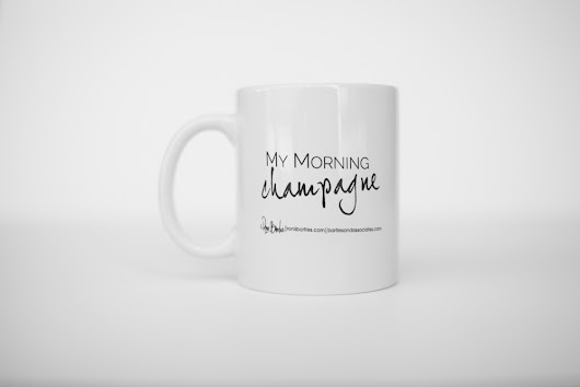 My Morning Champagne Mug