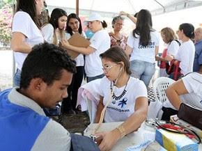 Alunos e professores da Unifor participarão de atividades como aferição de pressão arterial, avaliação de índice de massa corpórea (IMC) e exames do colesterol e glicemia (Foto: Ares Soares/Unifor)