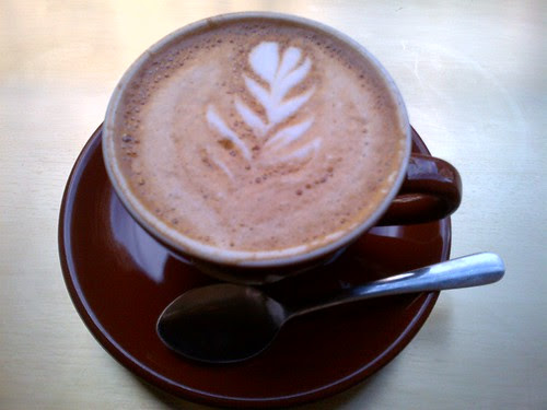 Latte Art at Stumptown Coffee Roasters