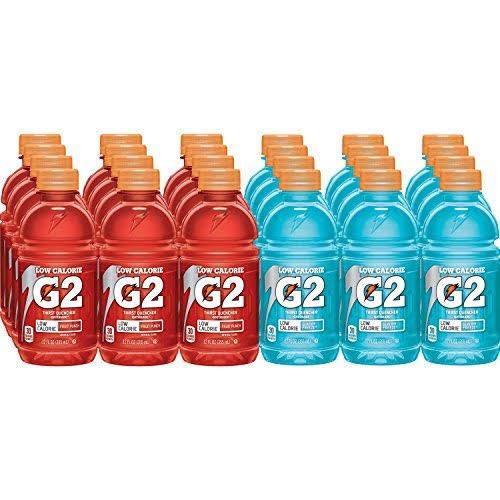 Gatorade G2 Thirst Quencher Drink Variety Pack - 24 pack, 12 fl oz bottles