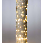 40'L Firefly String Lights, 240 Warm White LEDs, Bendable Silver Wire