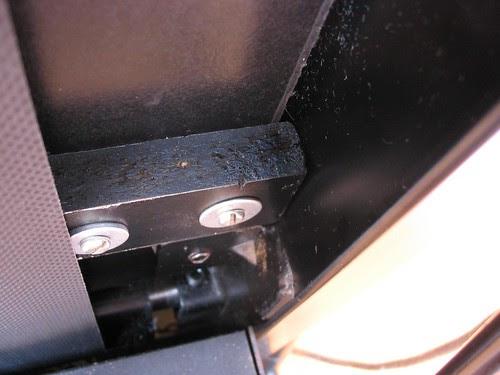 Modificação amortecedores esteira Kikos TS1501F -4