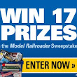 Win a gift certificate or equipment for your model railroad!