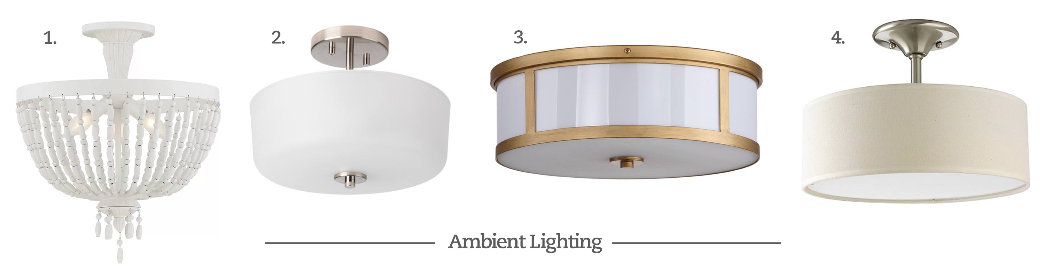 Power Your Reno 4 Types of Lighting & 16 Fabulous Light Options