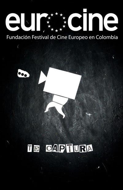 Propuesta de afiche para el concurso de Eurocine (festival de cine europeo en colombia), Bogotá, 2008