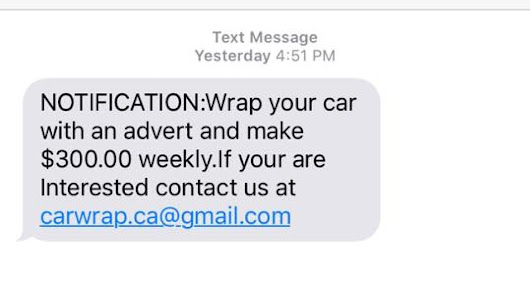 How a Dartmouth man outsmarted the car wrapping scam