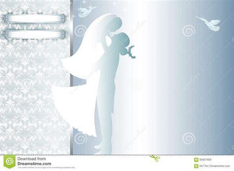 Wedding Invitation Card Design. Stock Illustration
