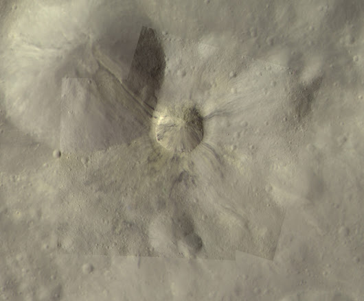 Pretty pictures: Vesta's dark material | The Planetary Society