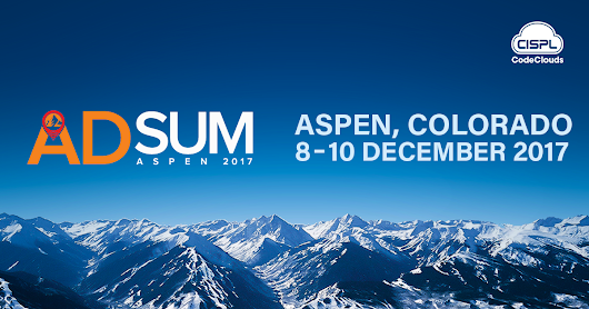 Come Join CodeClouds at the ADSUM Conference this December
