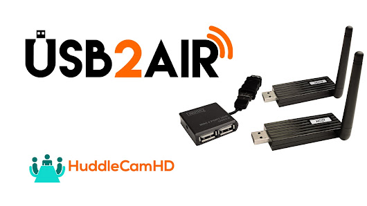 Wireless USB 2.0 Video Extension System from HuddleCamHD? This teaser video was just released...