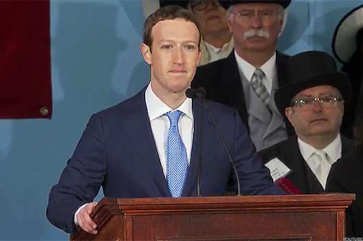 Facebook's Livestream of Zuckerberg's Harvard Speech Was One of Many Tech Failures, Here's Some More - TheStreet