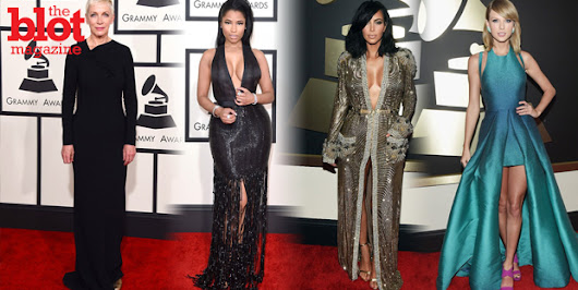 The Best & Worst Dressed of the 2015 Grammy Awards