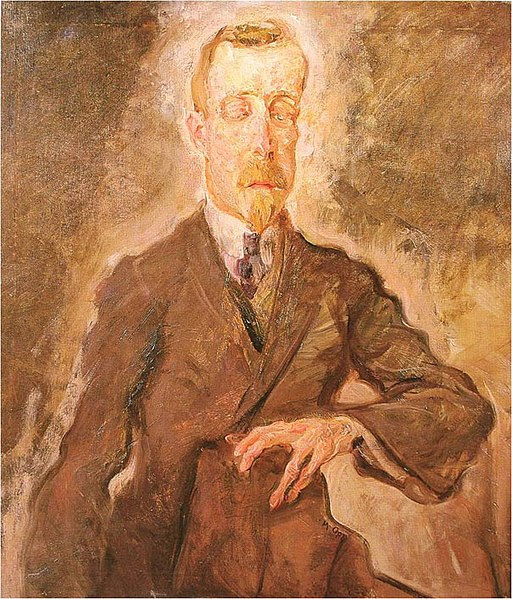 File:Portrait of Heinrich Mann by Max Oppenheimer 1910.jpg