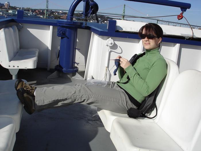 Ferry knitting