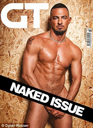 Naked issue: Ritchie is just one of the stars to strip off for the magazine