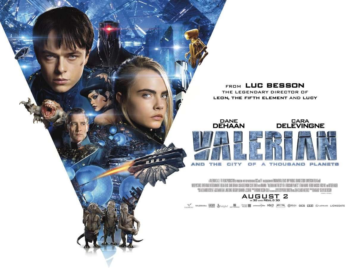 Ο Βαλέριαν και η Πόλη με τους Χίλιους Πλανήτες (Valerian and the City of a Thousand Planets) Quad Poster Πόστερ