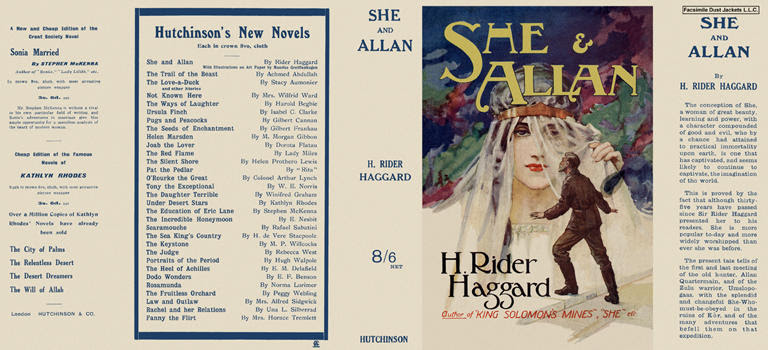 She and Allan. H. Rider Haggard.