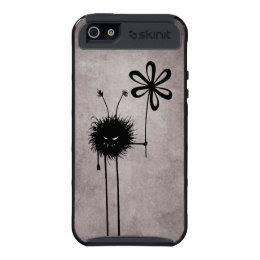 Protective Evil Flower Bug Vintage Case For iPhone 5